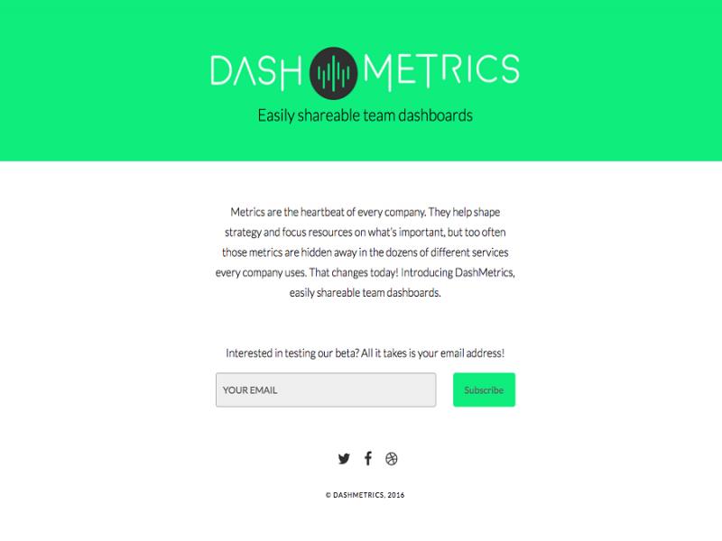 DashMetrics