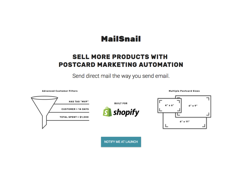MailSnail for Shopify
