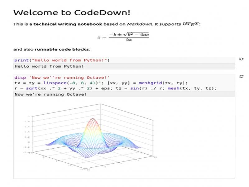 CodeDown